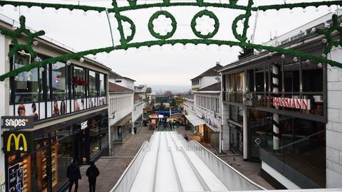 Eisrutsche in Kassel