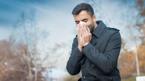 Herbst Grippe Erkältung