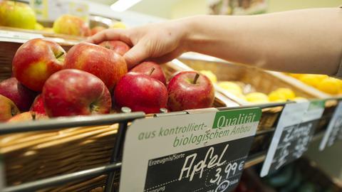 Bei Übelkeit: Zum Apfel greifen