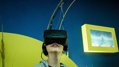 MS Wissenschaft VR-Brille