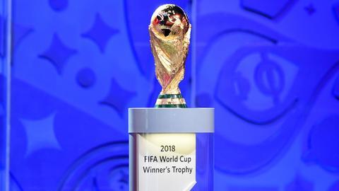 Pokal der FIFA Fußball-Weltmeisterschaft 2018 in Russland