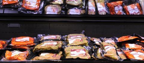 Fleisch eingelegt