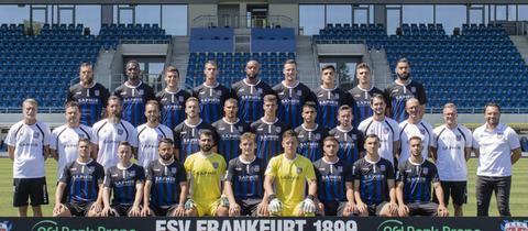 Mannschaftsfoto vom FSV Frankfurt