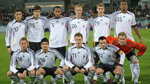 Die U21-Nationalmannschaft bei der Qualifikation für die EM 2009