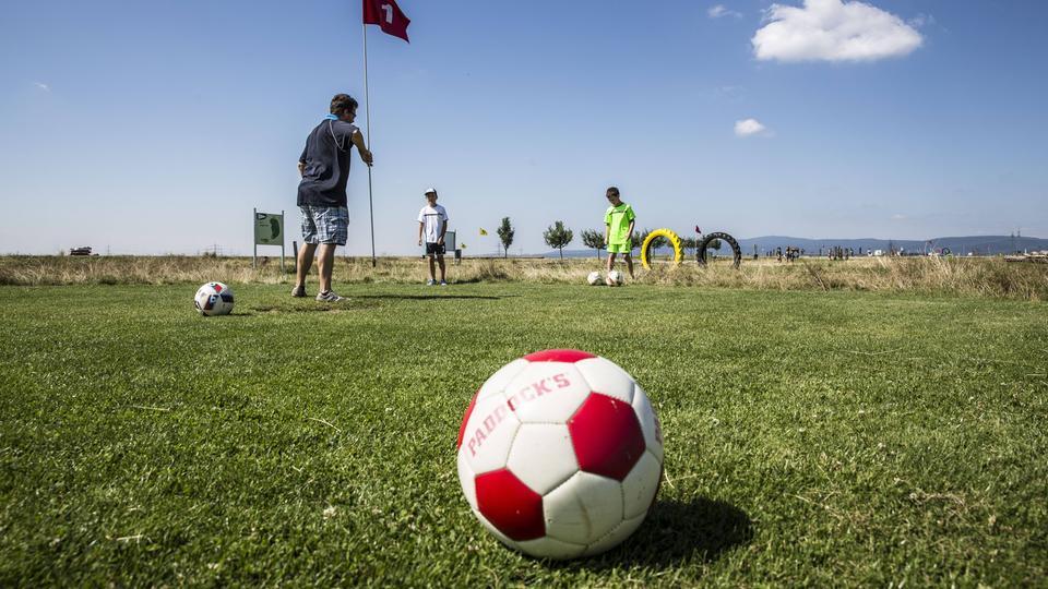 Video Liveschalte Fussballgolf Anlage In Wolfersheim Hr