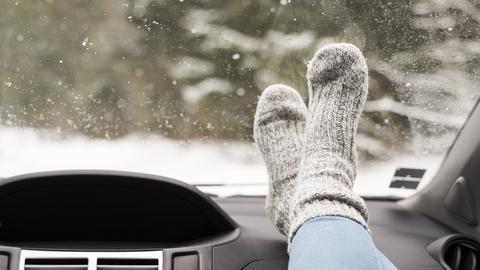 Kalte Füße sind unangenehm, aber kein Erkältungsgrund