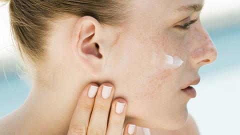 Gesunde und gepflegte Haut