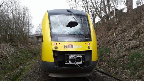 Anschlag auf Hessische Landesbahn