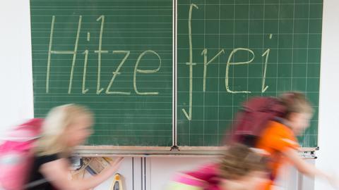 Hitzefrei Schule