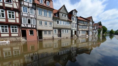 Hochwasser in Hann.Münden