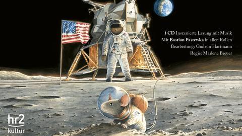 Maus auf dem Mond