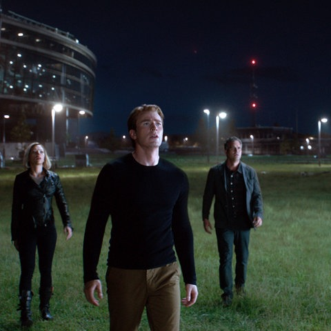 """Eine Szene aus """"Avengers - Endgame"""""""