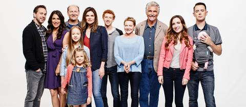 "Szene aus der Amazon Prime Serie ""Life in Pieces"""