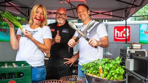 hr3 WM BBQ Tobi Tanja und der Weber-Grillmeister