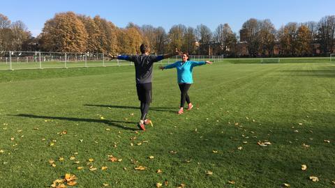 Nicole und Felix Klemme beim Personal Training