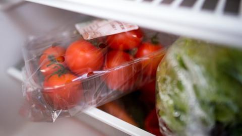 Gemüse im Kühlschrank