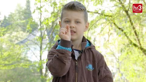Ein Kind erklärt die hr3 Kürbiswette