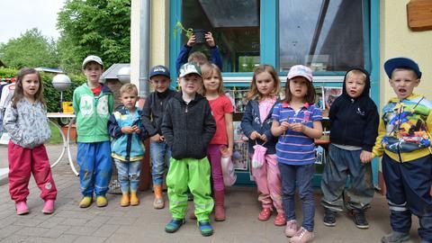 Kinder der Kita Puzzle in Ortenberg Bleichbach