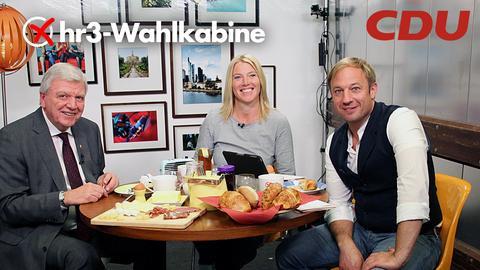 Tobi und Tanja interviewn Volker Bouffier