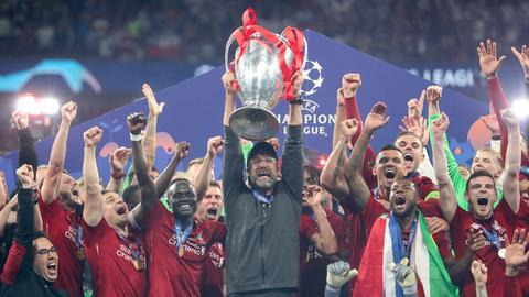 Trainer Jürgen Klopp hat mit dem FC Liverpool die Champions League 2018/19 gewonnen.