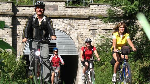 Milsenburgtunnel  in der Rhön