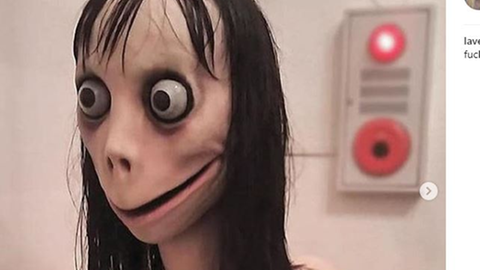 "Horror-Skulptur ""Momo"" aus Tokio"