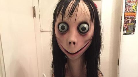 Horror-Skulptur Momo