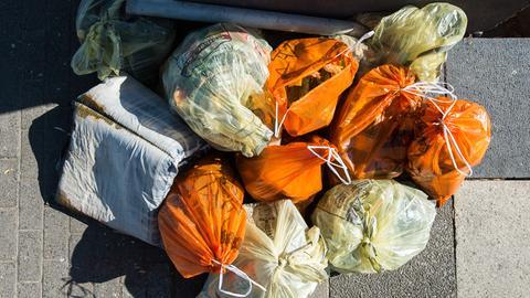 Müll sammeln hilft der Umwelt