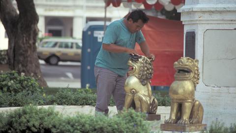 Blick ins Ausland - In Singapur gibt es Strafarbeit