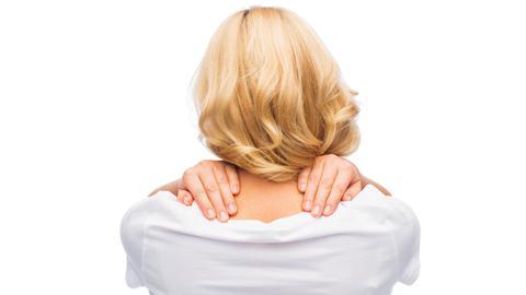 Nackenschmerzen sind leider ein häufiges Problem