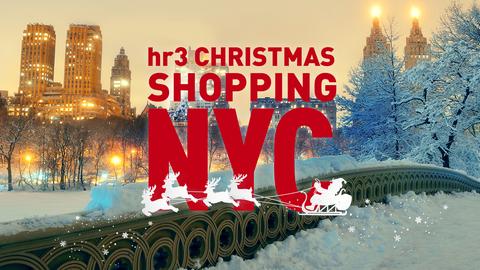 hr3 Christmas Shopping NYC