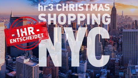 Das hr3 Christmas Shopping – fliegen oder nicht! Ihr entscheidet!