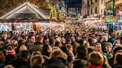 Frankfurt Innenstadt Weihnachtsmarkt