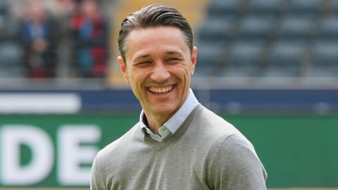 Eintracht Frankfurt Trainer Nico Kovac