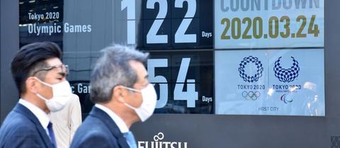 Olympische Spiele in Tokio verschoben