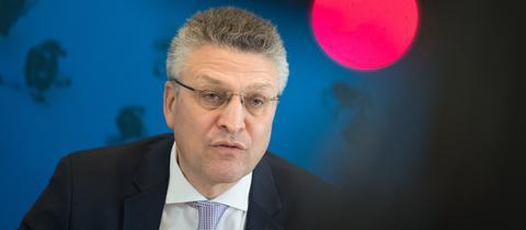 RKI Präsident Lothar Wieler