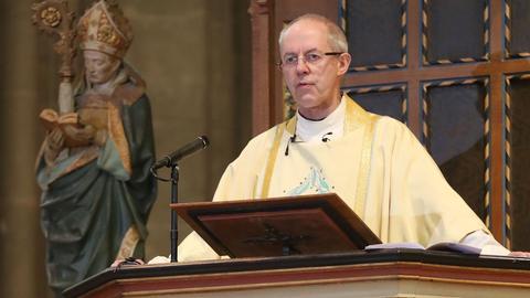 Justin Welby, Erzbischof von Canterbury