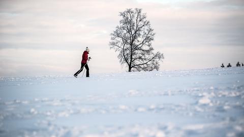 Schnee. Gehört zum Winter einfach dazu.