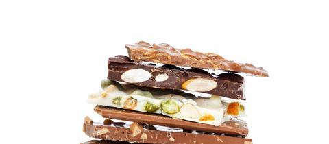 Schokoladen-Tafeln