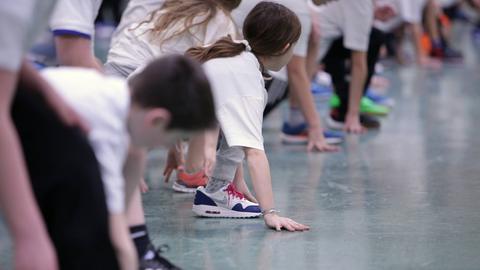 Sportunterricht in Schulen
