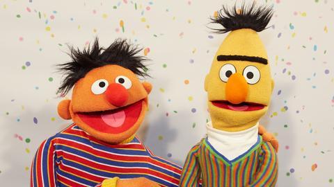 Ernie und Bert Sesamstraße