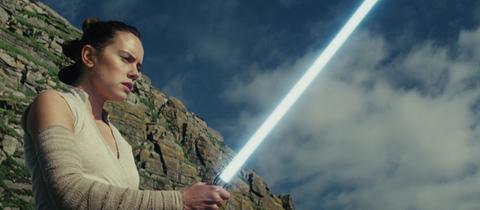 Szenenbild aus Star Wars 8 Die letzten Jedi