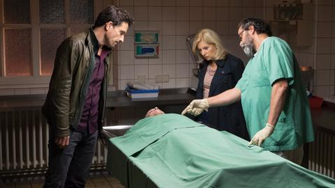 "Szene aus dem Bremer Tatort ""Blut"""