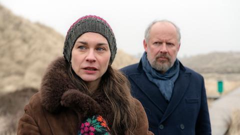 Zwischen Misstrauen und Anziehung: Borowski (Axel Milberg) weiß nicht, was er von Famke (Christiane Paul) halten soll.