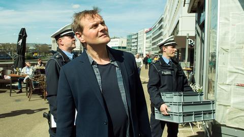 "Devid Striesow als Kommissar Stellbrink im Saarland-Tatort ""Mord Ex Machina"""