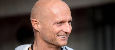 Trainieren mit der Eintracht: Thomas Zampach