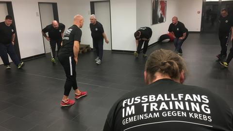 Trainieren mit Eintracht Frankfurt