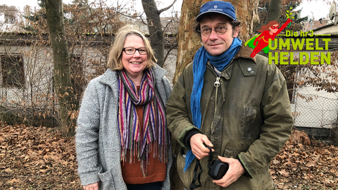 Umwelthelden Marit und Karsten vom Projekt Essbare Stadt