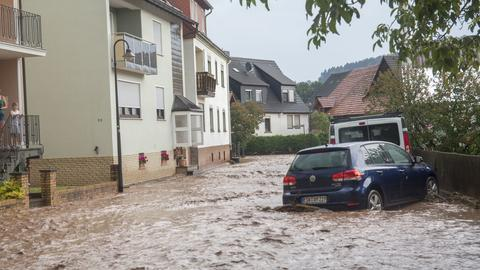 Unwetter in Hetzerode Mai 2018