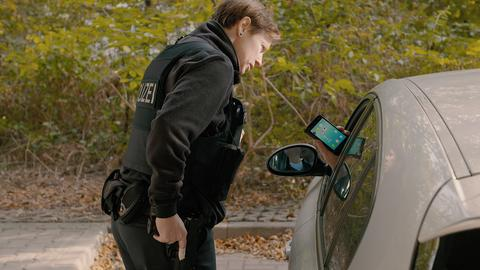 Video Startbild: Kopf hoch - Das Handy kann warten Polizeikontrolle